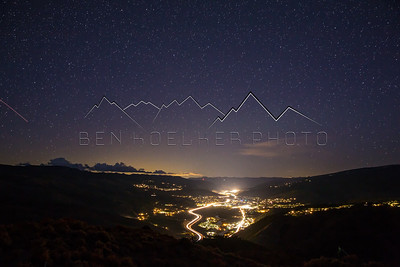 Long Exposure Photos from Bellyache Ridge, CO