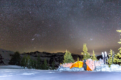 Camp at 12,000' in the Northern Sawatch Range, CO