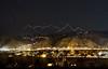 Avon and Wildridge, CO at Night
