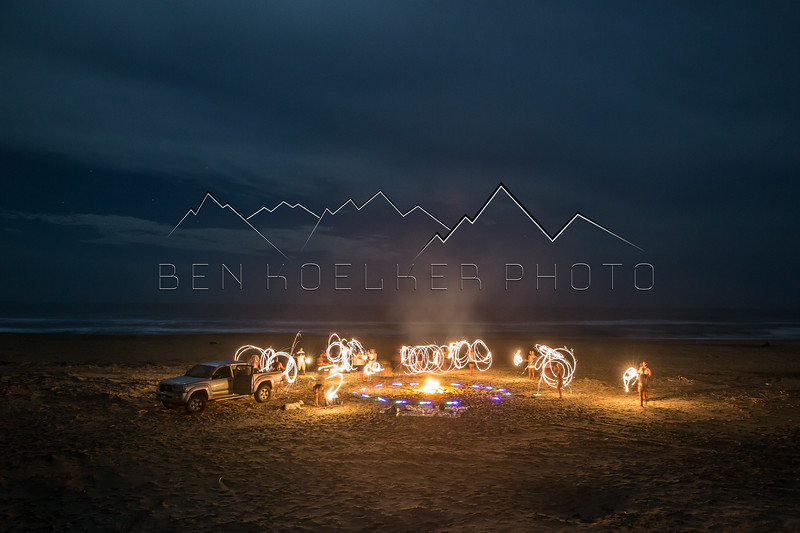 Long Exposure Photo, Surf Colony, BCS Mexico