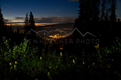 Beaver Creek, CO at night!