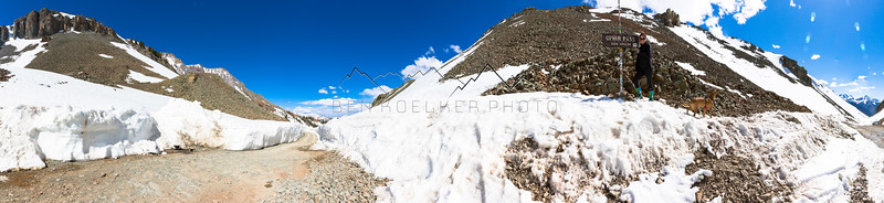 Panorama from the summit of Ophir Pass, CO