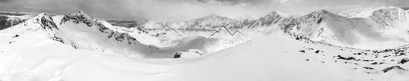 Skiing in the Ten Mile Range, CO