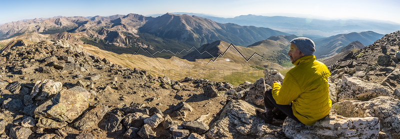 14,198' Mt. Yale, CO