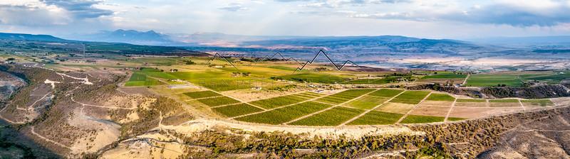 Drone Panorama near Hotchkiss, CO