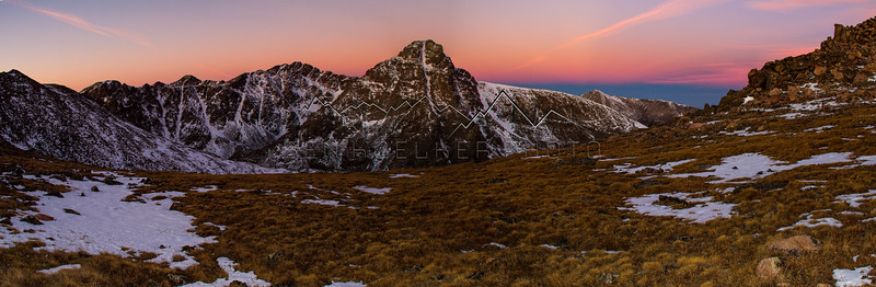 14,005' Mount of the Holy Cross at Sunrise