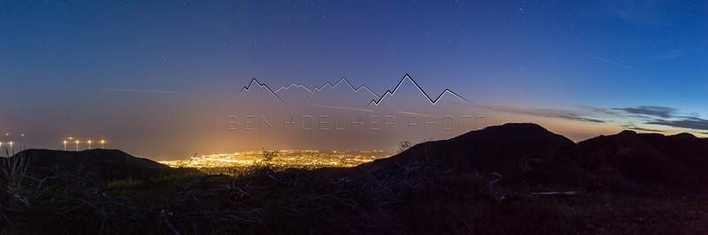 Long Exposure over Santa Barbara, CA