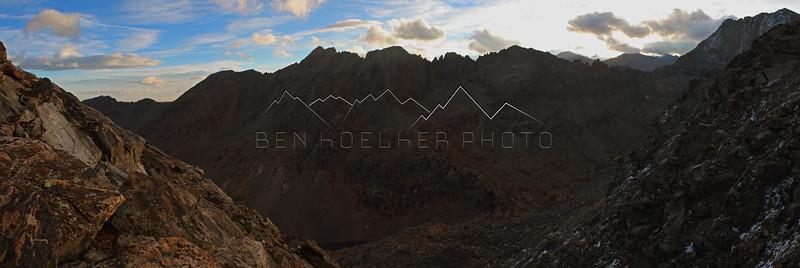 Scenery around Golddust Mountain, CO