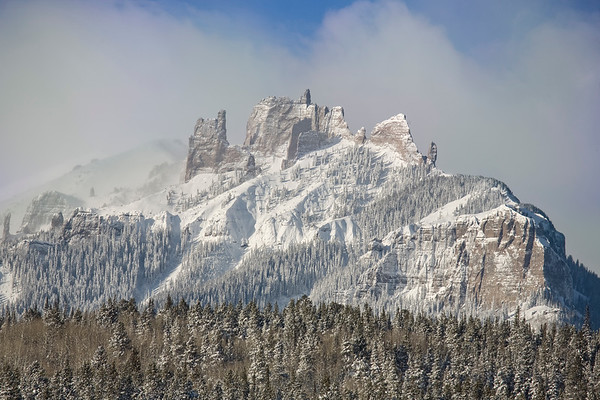 The Castles in winter