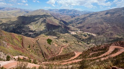 Road to Potolo - The Andes mountain range