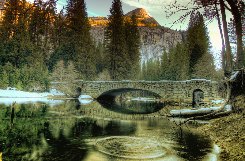 Tranquile Bridge by andy morris