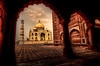 Taj through the arch by andy morris