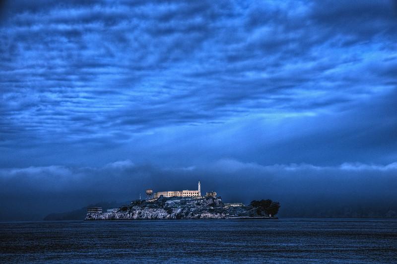 Alcatraz Storm by andy morris