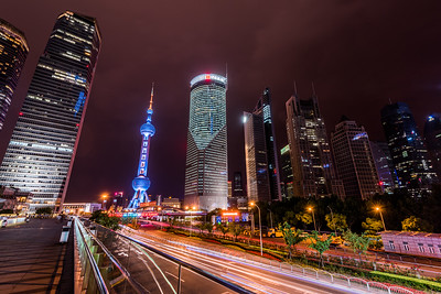 Lujiazui by Night