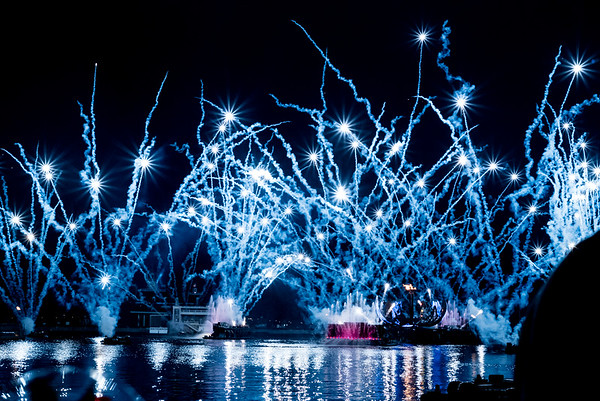 Epcot Fire Works