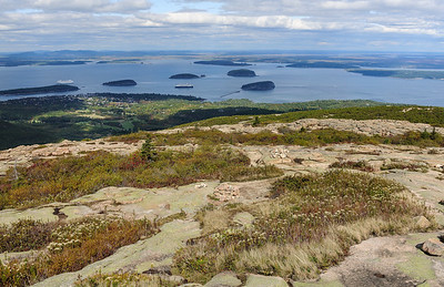 Atop Cadillac Mountain