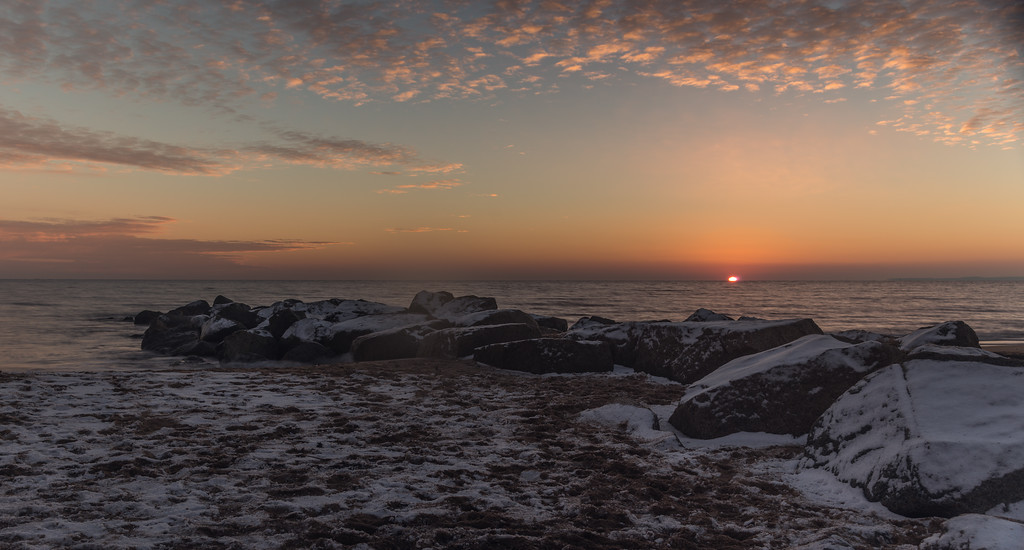 Dawn on the beach