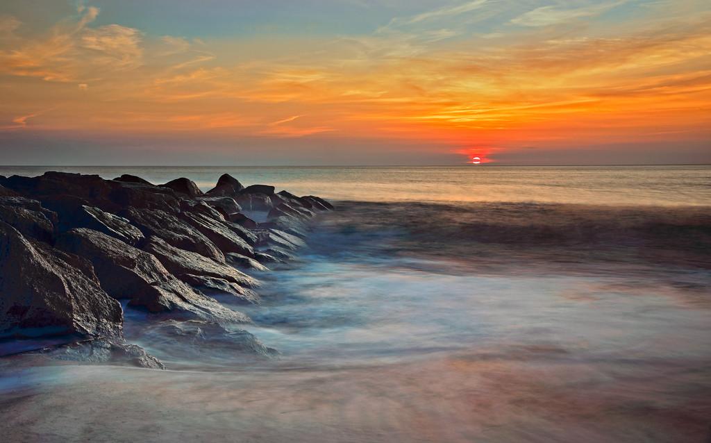 Sunrise on Plum_island
