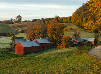 Jenne Farm in autumn