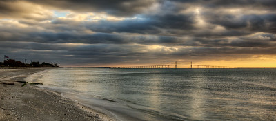 East Beach before dawn