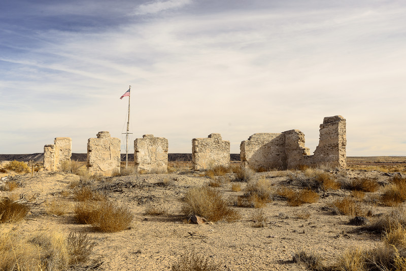 Remains of Ft. Craig