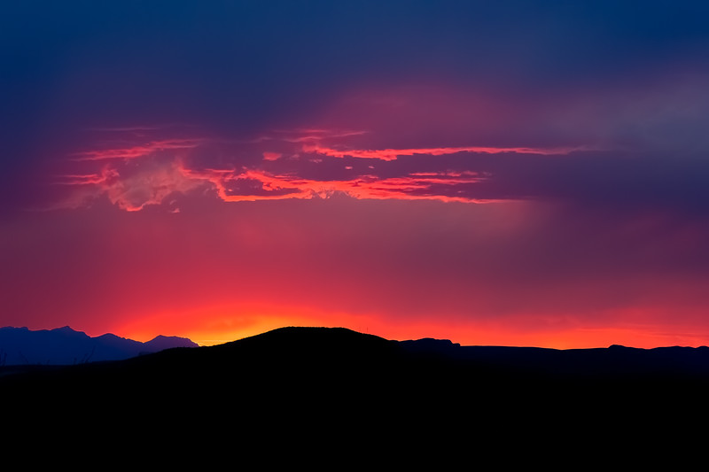 Red Skies at Night
