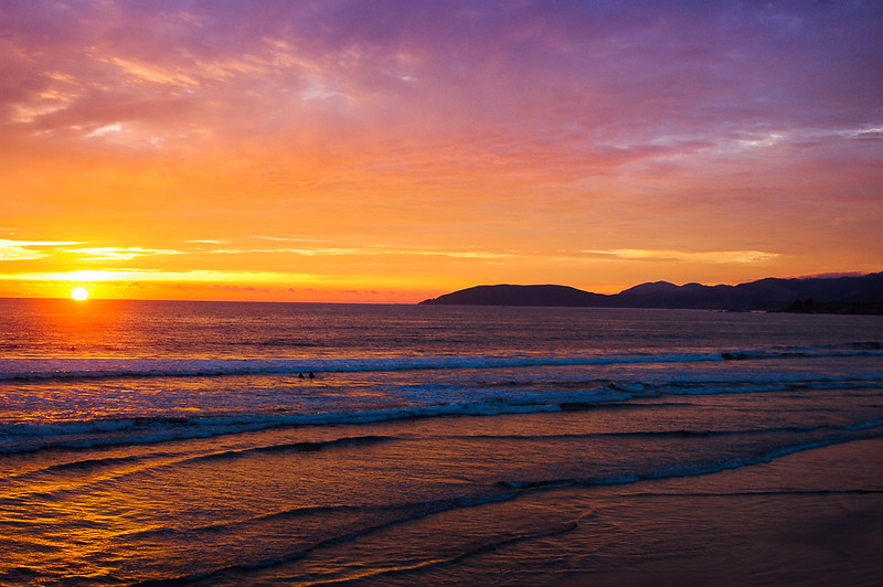 Pismo Beach Sunset II