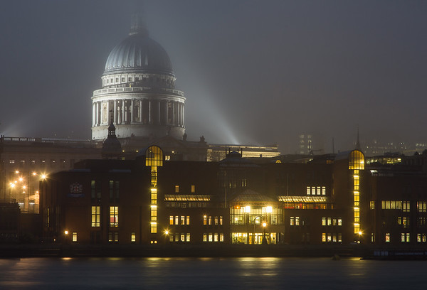 A Foggy Night in London Town