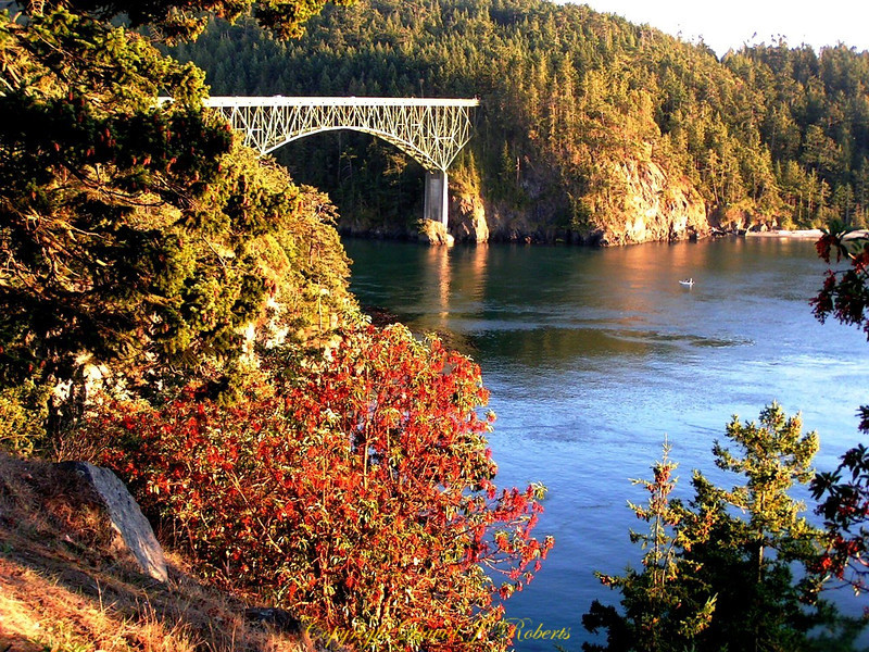 Deception Pass and Bridge, Washington