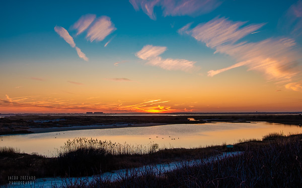 Stone Harbor Sunset - February 2020 #2