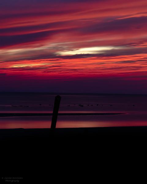 9PM Sunset, Variant #3
