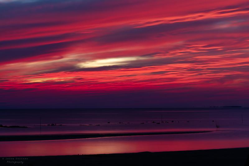 9PM Sunset, Variant #2