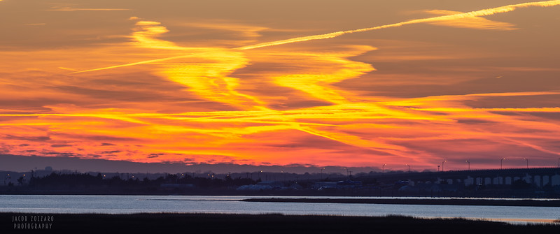 Stone Harbor Sunset - February 2020 #3