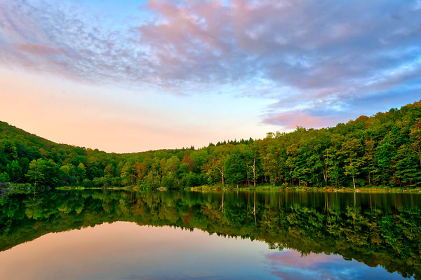 Russ Gray Pond - Catskill Mountains