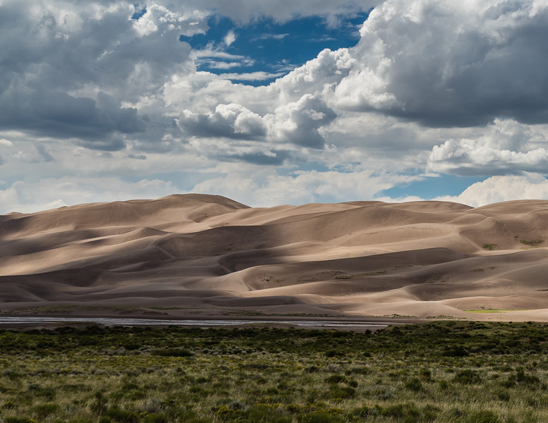 Sand Dunes and Skies