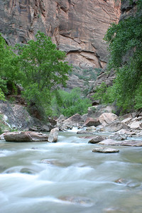The Virgin River - Zion National Park, Utah