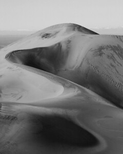 Frost covered dunes - Great Sand Dunes National Park, Colorado