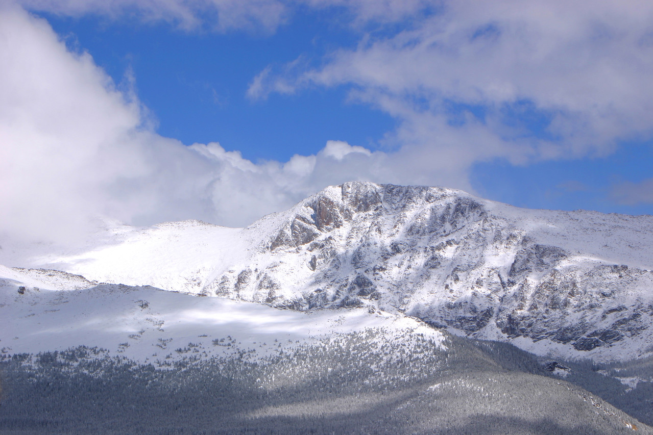 Snowy summit - Rocky Mountain National Park, Colorado