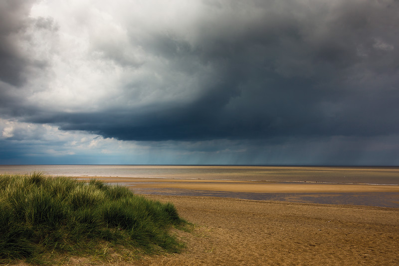 Storm Over The Lincolnshire Coast