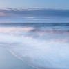 Sunset Tinged Waves