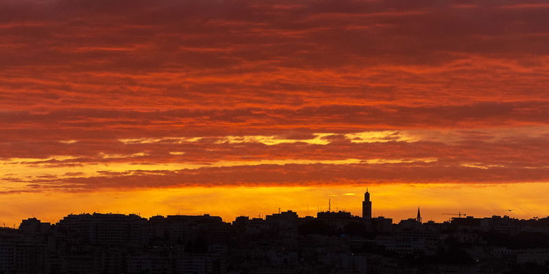 Tangiers Sunset