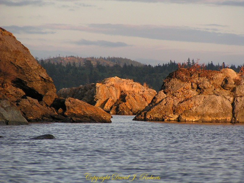 Rocks near Cone Islands, Washington
