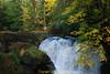 Whatcom Creek upper falls, Bellingham WA