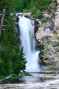 Twin Falls - Glacier National Park, Montana