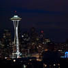Seattle Skyline from Kerry Park 2009