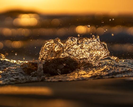 A Tiny Splash of Sunset
