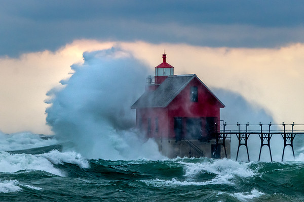 The Waves of Fall in Grand Haven