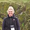 Helga (assistant leader) at Fjardargljufur Canyon