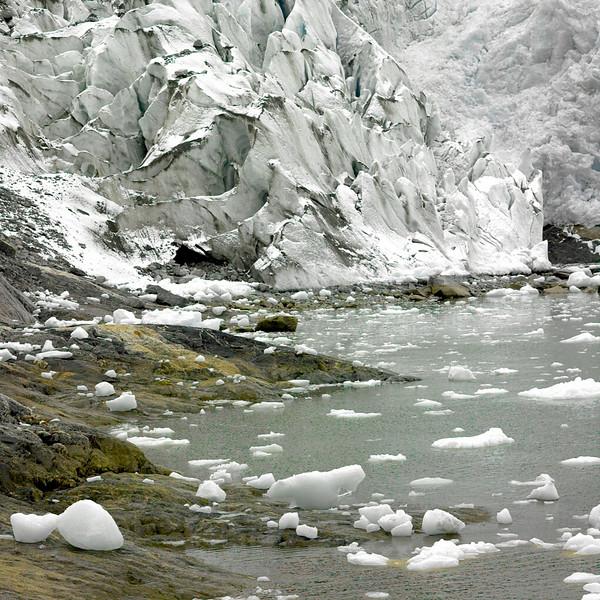 Glacier, Straights of Magellan, Chile, October, 2007