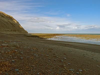 Dusk, Peninsula Valdes, Argentina 3/2010